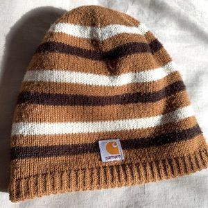 Carhartt Reversible Striped Knit Beanie